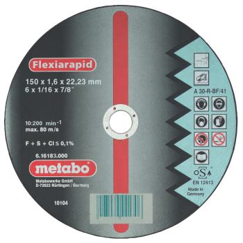 Flexiarapid 150x1,6x22,23 Inox, Trennscheibe, gera