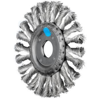 Rundbürste, gezopft RBG 12512/22,2 CT INOX 0,35