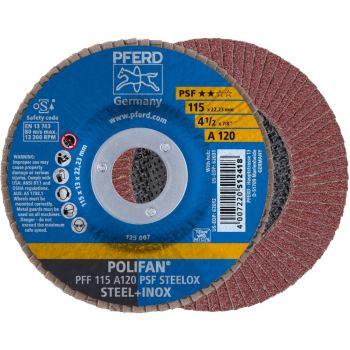 POLIFAN®-Fächerscheibe PFF 115 A 120 PSF/22,23