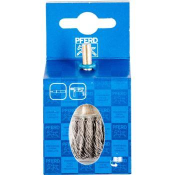Pinselbürste mit Schaft, gezopft POS PBG 3030/6 INOX 0,60