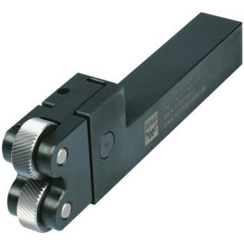 CNC-Rändelhalter Schaft 20x20 für 2 Rändel 20x8x6
