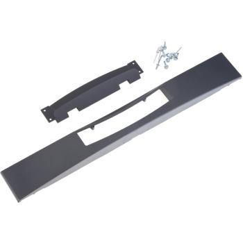 Frontblende, schwarz, flach, 176-051