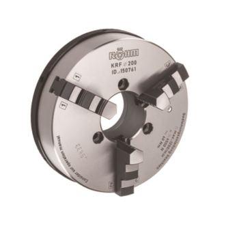 KRF 110, 3-Backen, mit Spannstift, Zylindrische Zentrieraufnahme, Gusskörper