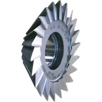 Winkelstirnfräser HSSE DIN 842 45 Gr.125x36x32 mm