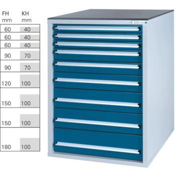 Werkzeugschrank System 700 S, Modell 32/9 GS -