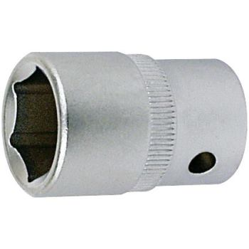 Steckschlüsseleinsatz 12 mm 1/4 Inch DIN 3124 Sech skant