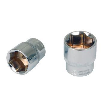 """1/2"""" CHROMEplus® Sechskant-Stecknuss, 28mm 918.122"""