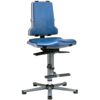 Arbeitsstuhl Sintec mit Gleiter - Sitzneigun