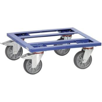 Transportroller für Kisten Plattform aus Stahlrahm