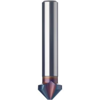 Kegelsenker 3-schneidig 90 Grad 6,0 mm HSS-TINALOX