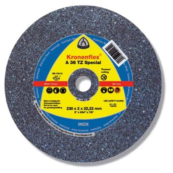 Trennscheibe INOX, SPECIAL, A 36 TZ, gerade, Abm.: 115x2x22,23 mm