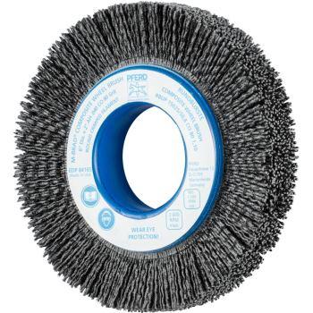 Rundbürste mit Plastikkörper, ungezopft RBUP 15025/50,8 CO 80 1,10