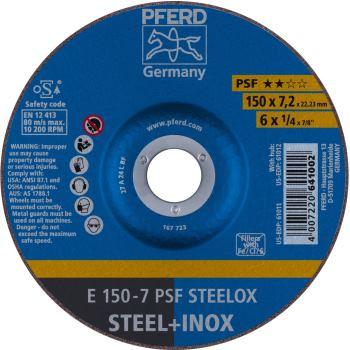 Schruppscheibe E 150-7 A 24 L PSF/22,23