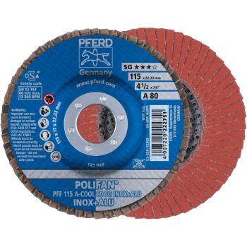 POLIFAN®-Fächerscheibe PFF 115 A 80 SG-COOL/22,23