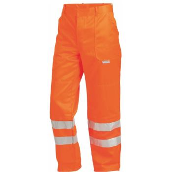 Warnschutz-Bundhose Klasse 3 orange (RAL 2005) Gr. 58