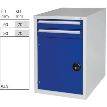 HK Unterbauschrank GK 2 RAL 7035/5010