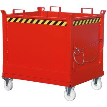Klappbodenbehälter FB 1500, RAL 5012