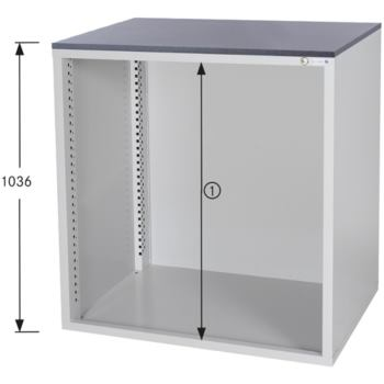 HK Schrankgehäuse System 700 B, HxBxT 1036x1022x70