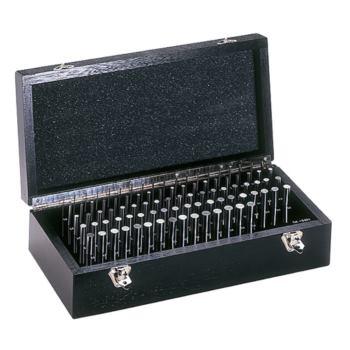 Prüfstifte Tkl. 2 +/-2 mµ Durchm. 2,01-3,00 Stg.0, 01 im Holzkasten