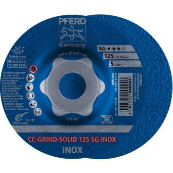 CC-GRIND-SOLID 125 SG-INOX
