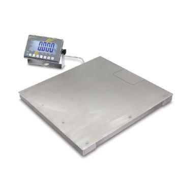 Industriewaage Edelstahl / Max 1500 kg; e=0,5 kg;