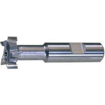 T-Nutenfräser HSSE5 DIN 851 N Größe 12-22x10 mm T