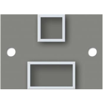 T-Pfosten für MS-System Höhe (H) 2000mm inkl. Hüls