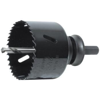 Lochsäge HSS Bi-Metall 46 mm Durchmesser ohne Scha ft