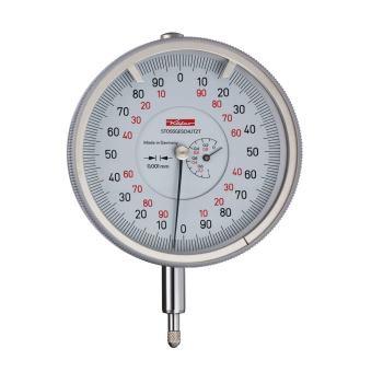 Feinmessuhr 0,001mm / 1mm / 80mm / Stoßschutz / ISO 463 - Werksnorm 10113
