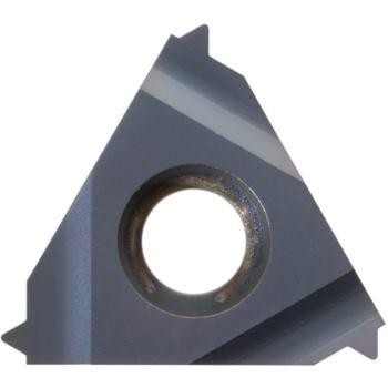 Vollprofil-Wendeschneidplatte Außengew.rechts 16ER Z0,5 ISO HC6625 Stg.0,5