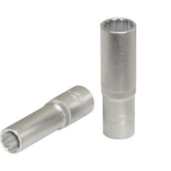"3/8"" 12-kant-Stecknuss, lang, 16 mm 917.3976"