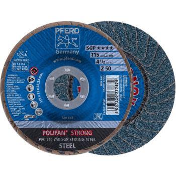 POLIFAN®-Fächerscheibe PFC 115 Z 50 SGP-STRONG/22,23