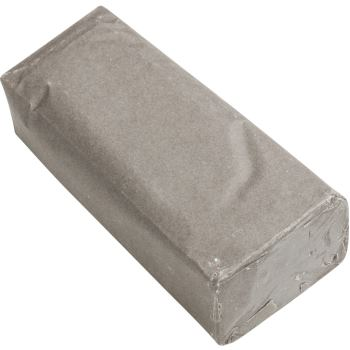 Schleifpaste und Polierpaste für Alu + Messing Farbe grau