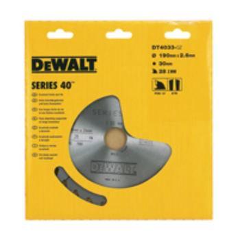 EXTREME DEWALT® Handkreissägeblatt - Un DT4032 Einsatz und Querschnitte