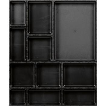 Ordnungssystem 12-teilig Abm. Matte BxT 480x576mm