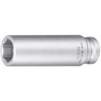 Steckschlüsseleinsätze 1/4 Inch SW 13 mm 45 mm mit