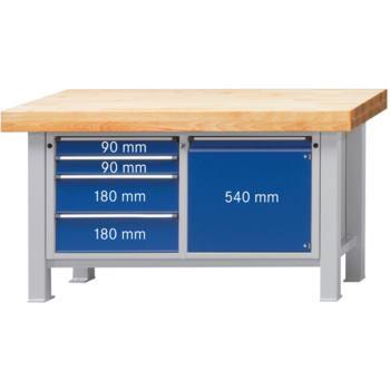 Schwerlast-Arbeitstisch Modell 131 VS Platte