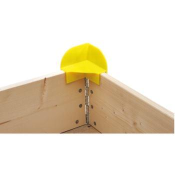 Stapelecken PPC-Material, gelb Verpackungseinheit