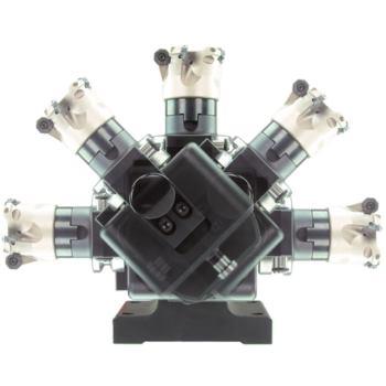 solid-clamp 45 Grad Grundblock (ohne Werkzeugaufna hme)