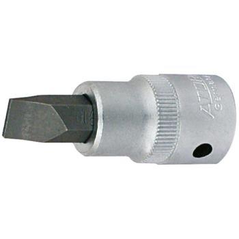 """1/4""""Zoll Schraubendrehereinsatz Steckschlüssel Einsatz Schlitz 0,8x4,0 mm"""