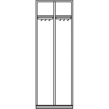 Mehrzweckschrank Modell 77K HxBxT 1800x600x500 mm