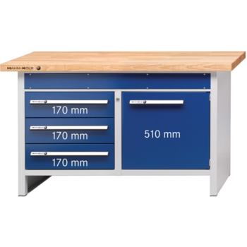Werkbank Modell 106 1500 x 700 x 900 mm RAL 703