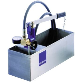 URACA Prüfpumpe UX 60 mit Behälter und Zubehör
