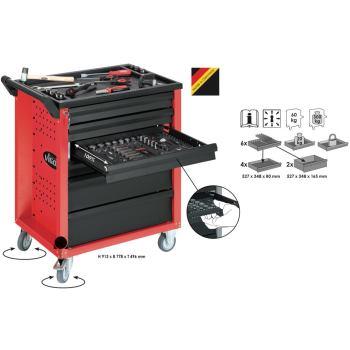 Werkzeugwagen-Vigor600-rot