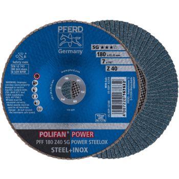 POLIFAN®-Fächerscheibe PFF 180 Z 40 SG/22,23