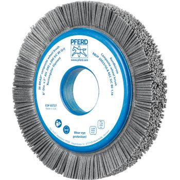 Rundbürste mit Plastikkörper, ungezopft RBUP 20025/50,8 REC SiC 80 1,14