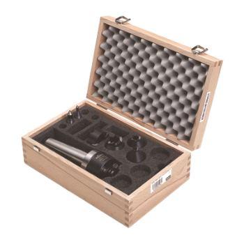 Stirnseiten-Mitnehmer Set, CoA, MK6, Spannkreis 12-50mm, Linkslauf