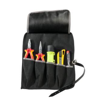 Rolltasche Kunstleder 280x320mm 5 Einsteckfächer