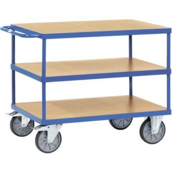 Tischwagen 2422 Ladefläche 1.000 x 700 mm mit 3 Bö