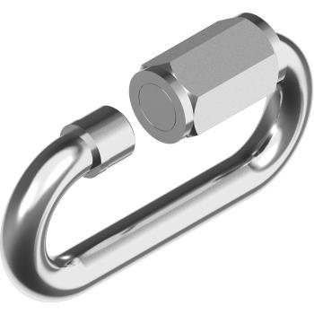 Ketten-Schnellverschluss D= 6 mm, A4